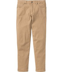pantaloni elasticizzati classic fit straight (beige) - bpc bonprix collection
