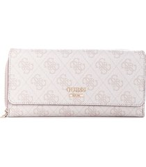 billetera downtown cool slg lrg clutch or sg729662 para mujer guess - beige con envio gratis