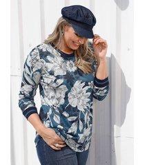 shirt miamoda marine::wit
