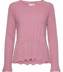 maureen sweater gebreide trui roze odd molly
