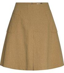 cenia skirt kort kjol beige just female