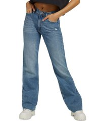guess 80s wide-leg jeans