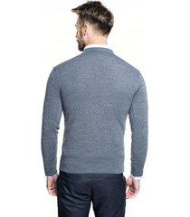 sweter albern półgolf szary