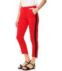 pantalón rojo enoss orion franja