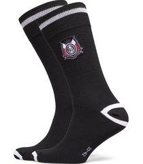 th men sock 2p crest underwear socks regular socks svart tommy hilfiger