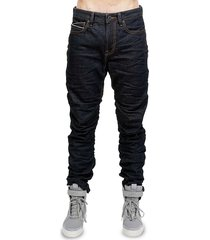 cult of individuality men's stacker slim jeans - raw - size 32