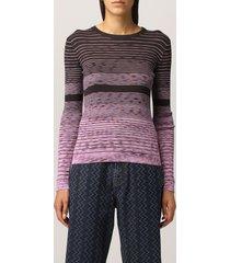 m missoni sweater m missoni striped wool blend sweater