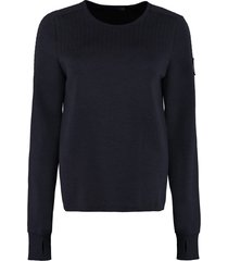canada goose elmvale wool-blend crew-neck sweater