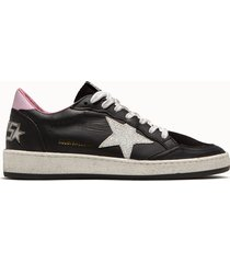 golden goose deluxe brand sneakers ball star colore nero glitter