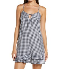 women's bp. katie check chemise