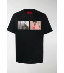 424 liam del print t-shirt