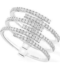 women's messika gatsby multirow diamond ring