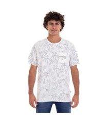 camiseta m/c double palmistry - branco - p