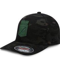 gorra atlético nacional oficial edición limitada premium flexfit 6277 camo black