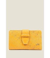 billetera basic de cuero para mujer