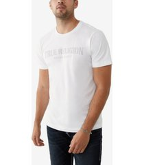 men's arch logo short sleeve crewneck tee