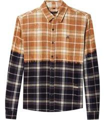 camisa john john terry algodão xadrez masculina (xadrez, gg)