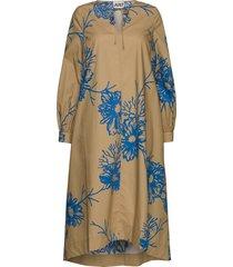 marty dress knälång klänning beige just female