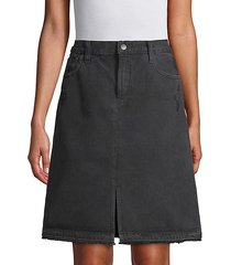 carolina super high-rise cotton skirt