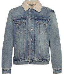 ilkley jacket jeansjack denimjack blauw allsaints