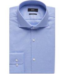 boss men's sharp-fit oxford cotton dress shirt