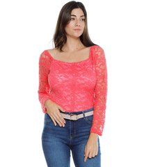 blusa coral paris district