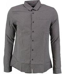 calvin klein grijs slim fit overhemd