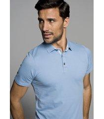 koszulka polo orton błękit