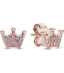 brinco rosetm coroa da princesa