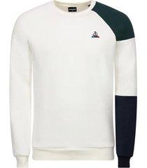 sweater le coq sportif tricolore crew sweat n°2