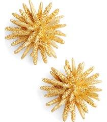 women's karine sultan large stud earrings