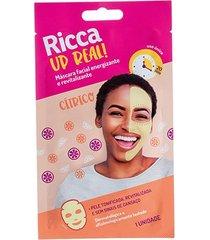 máscara facial energizante e revitalizante ricca 1 unidade