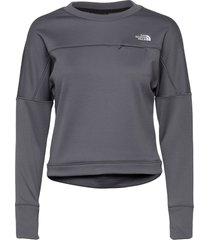 w hikesteller po sweat-shirts & hoodies fleeces & midlayers grå the north face