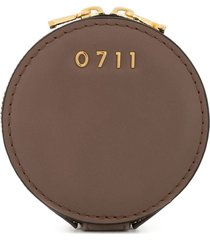 0711 small evi cosmetic bag - brown