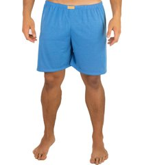 short curto mvb modas  pijama de dormir azul claro - azul - masculino - poliã©ster - dafiti