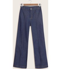 jeans flare azul 10