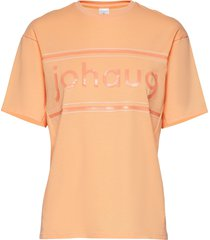 active tee 2.0 t-shirts & tops short-sleeved orange johaug