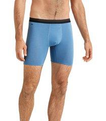 rhone essentials boxer briefs, size medium in sodalite blue at nordstrom