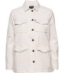 raven jacket zomerjas dunne jas crème lexington clothing