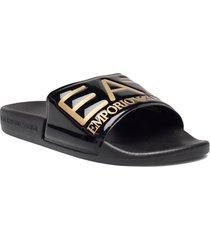 slipper visibility s shoes summer shoes pool sliders blå ea7