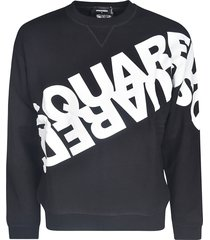 dsquared2 logo chest print sweater