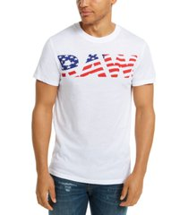 g-star raw men's flag logo t-shirt, created for macy's