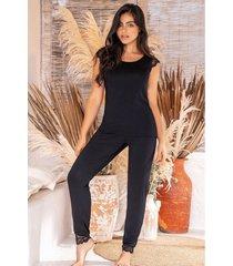 pijama mujer conjunto pantalón 11385