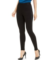 vince camuto studded leggings