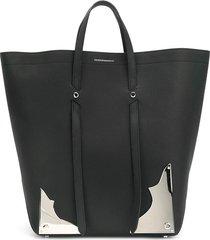 calvin klein 205w39nyc western tote bag - black