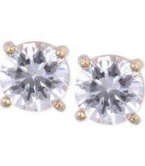 anne klein crystal stud earrings