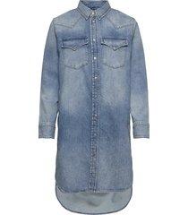 de-blanche dress knälång klänning blå diesel women