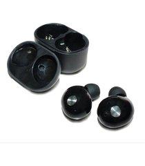 audífonos bluetooth manos libres inalámbricos, ip010 audifonos bluetooth manos libres  mini auriculares inalámbricos 3d estéreo con caja de carga (negro)