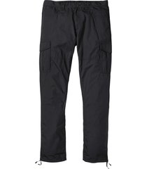 pantaloni cargo leggeri loose fit straight (nero) - rainbow