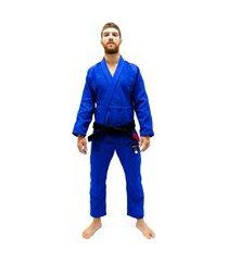 kimono jiu jitsu koral new classic azul